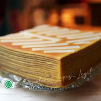 SUPPLIER KUE LAPIS LEGIT Cheese Super Wisman 100% Halal uk 20x20 Keju