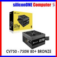 Corsair Powersupply CV750 [CP-9020237-EU] 750W 80+ BRONZE