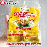 Ayam Bumbu Kuning Empuk siap Goreng (Asin/ Gurih) – 5 Potong - 4 Pcs (1 Ekor)