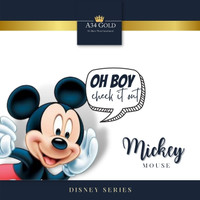 Disney Mickey Mouse FINE GOLD 999.9% - UBS Koin emas angpao hadiah 24K