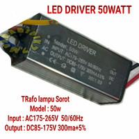 led driver 50 watt / trafo lampu sorot 50watt / Ballast 50watt