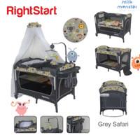 Right Start Playard Full + Ayunan / Box Bayi / Tempat Tidur Bayi