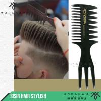 Sisir Rambut Hair Styling Sisir Barber Dan Salon Sisir 3 Kaki