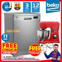 Beko Dishwasher Mesin Cuci Piring DFN16410X (FREE ONGKIR)