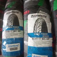 ban motor kingland tiger tubless 70/90&80/90-17 sepasang