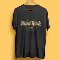 Kaos T-shirt Hard Rock Cafe Logo Baju Katun Premium Pakaian Retro