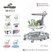 Spacebaby walker 3 in 1 SB615-3 I SPACE BABY WALKER | KADO