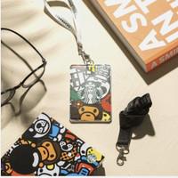 Starbucks X Bape baby milo cardholder lanyard