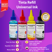 Tinta Refill 100ml Cartridge Canon PG810 CL811 Black Color iP2770