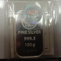 perak ANTAM - HMV sertifikat 100 gr