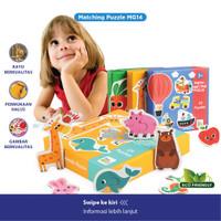 Mainan Edukasi - Matching Puzzle / Mainan Anak / Puzzle Kayu