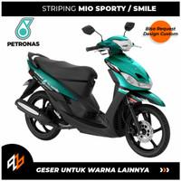 STRIPING MIO SPORTY PETRONAS / STIKER MOTOR MIO SPORTY OLD