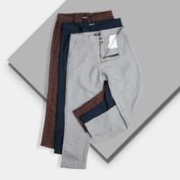 Celana Tartan Pants - Celana Panjang Pria - Tartan Ziga Ankle Pants