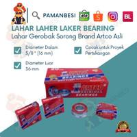 Lahar Laher Bearing Artco Original Gerobak Dorong Sorong Wheel