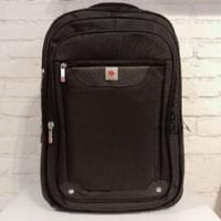 Ransel tas punggung pria wanita POLO CLASSIC BP20 16802 - Hitam