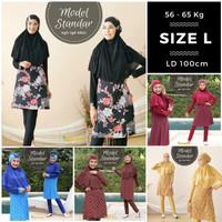 size L baju renang wanita muslimah syari