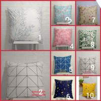 sarung bantal besar 70x70 lantai motif abstrak
