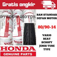 Ban luar Federal AHM Honda ukuran 80/90-14 Tube type