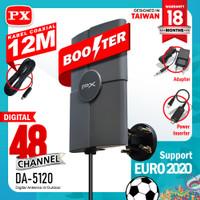 Antenna Antena TV PX Digital Indoor Outdoor + Kabel 12 Meter DA-5120