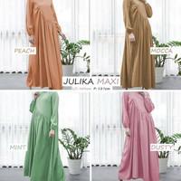 Sale*Dijual Julika Maxy Dress Ibu Hamil Bumil Besar Baju Muslimah