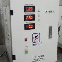 SHINZO STABILIZER PREMIUM ( INPUT 90V - 250V) TYPE SVC- 10 KVA