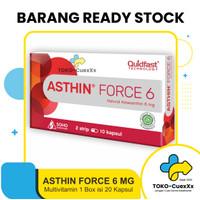 Asthin Force 6 Mg - Daya Tahan Tubuh [1 Box : 2 Strip @10 Kapsul]