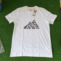Adidas original terrex badge of shirt hiking white black TEE bnwt