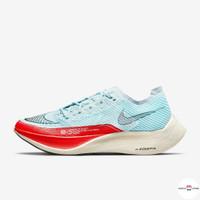 Sepatu Nike ZoomX Vaporfly Next Percent 2 II OG Blue Red