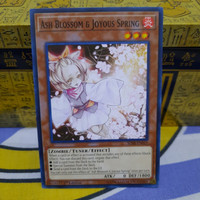 KARTU YUGIOH Ash Blossom common 1st ed SDSB original card koleksi