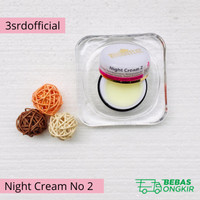 Krim Malam Pemutih Wajah Essential no 2 - Night Cream Essential