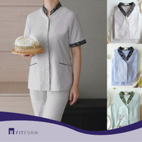 Baju Seragam BATIK Mandarin Collar (Celana Panjang)
