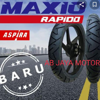 BAN LUAR TUBLESS UKR 70/90-14 MERK ASPIRA RAPINDO MOTOR MATIC