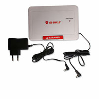 Red Shield Alarm Back Up - Putih