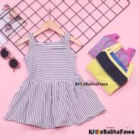 Dress Meymey uk 1-2 Tahun / Dres Baju Anak Perempuan Kaos Harian Murah