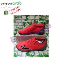 Sepatu Futsal Bola SPECS SWERVO GALATICA PROMO Merah 400978 per pasang