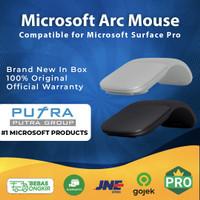 (NEW) MICROSOFT SURFACE ARC Mouse Black Original 100 % - White