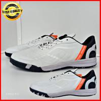 sepatu futsal ortuseight olahraga pria - putih hitam, 39