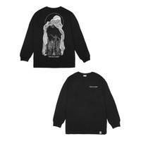 Reclays Kaos Pria Tshirt DECKS DARK LSV - BLACK