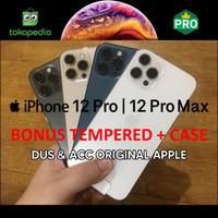 iPhone 12 Pro / 12 Pro Max 128GB 256GB 512GB Bekas Mulus Fullset Ori
