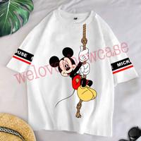 Kaos Dewasa Jumbo Oversize Cotton 30d Mickey Manjat