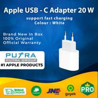 (ORIGINAL) Apple 20W 20 W Fast Charging USB - C Power Adapter Segel