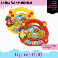 ANIMAL FARM PIANO BAYI - MAINAN MUSIK - 1224