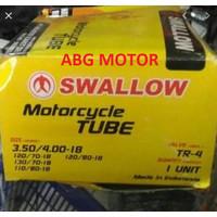 BAN DALAM MOTOR RING 18 UKURAN 350 400 SWALLOW