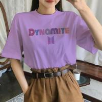 Kaos Katun Wanita Dynamite BTS / Baju Wanita / Big Size / Import