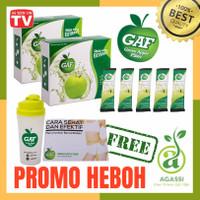 Green Apple Fiber (GAF) 2 Box + Gift Ekstrak Apel Hijau Original 100%