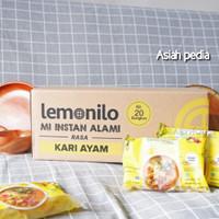 Lemonilo Mie instant kuah Rasa kari ayam dan ayam bawang