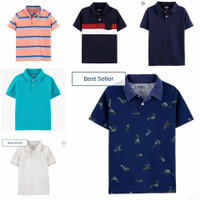 Oshkosh boys polo shirt - Kaos kerah branded ori anak dan remaja laki