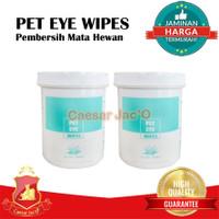 Pet Eye Wipes / Tisu Pembersih Mata Anjing Kucing Kelinci Hewan