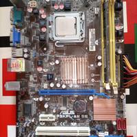 Mobo Asus P5KPL-AM SE G31 ddr2 LGA 775+RAM 2gb ddr2+PSU Simbada 430w