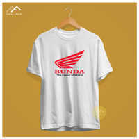 Kaos Baju T shirt Plesetan Parodi Lucu Pria Wanita Merk Brand Bunda - Putih, M